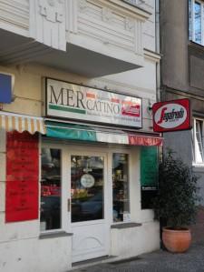 Das Mercatino fällt in der Müllerstraße aus der Rolle