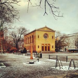 Alte Nazarethkirche am Leopoldplatz
