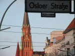 Osloer Straße Gesundbrunnen und Stephanuskirche