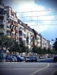 Blick in die Genter Straße, Foto: D_Kori