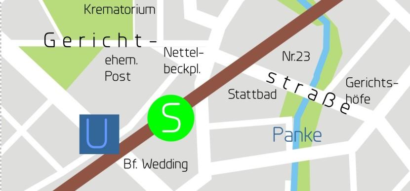 Stadtplan Gerichtstr