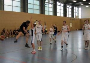 Spielsituation vom 1. Weddinger Mixed-Turnier im vergagenen Jahr.