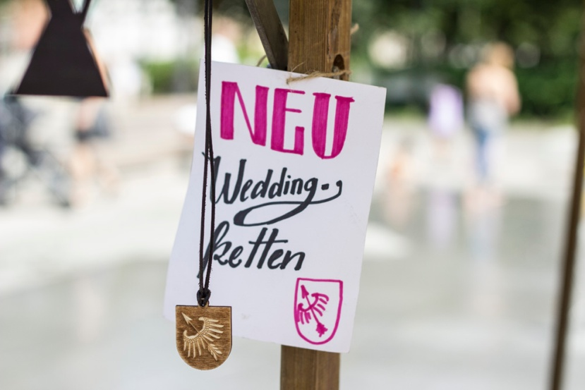 Weddingketten bei der Perlerie Sauvage