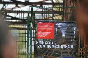 Plakat Humboldthain Liesenbrücke