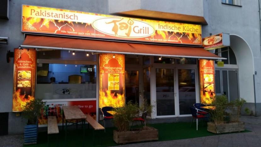Taj Grill außen