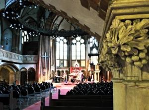 Die Stephanus-Kirche in der Prinzenallee wird neuerdings für Musikveranstaltungen genutzt. Foto: Alexandra Resch