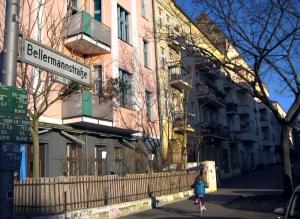 In der Bellermannstraße wird das Vorortbüro des Quartiersmanagement Badstraße eingerichtet. Foto: D. Hensel