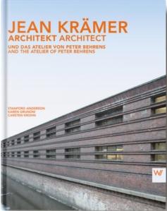 """""""Jean Krämer - Architekt. Und das Atelier von Peter Behrens."""" - Grafik: Verlagshaus Römerweg."""